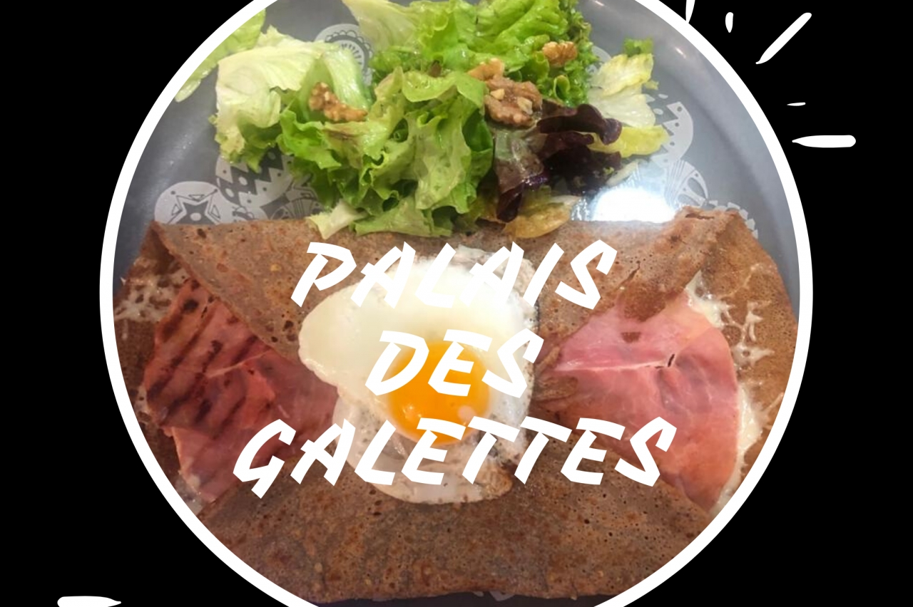 Le Boutaric creperie / burger - CLASSIQUE BURGER (8,50€) Steak Haché, Salade, Cheddar, Tomate, Ketchup