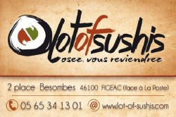 LOT OF SUSHIS - RESTAURATION Figeac